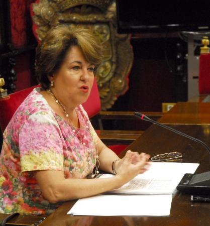 La concejala del PP Telesfora Ruiz.