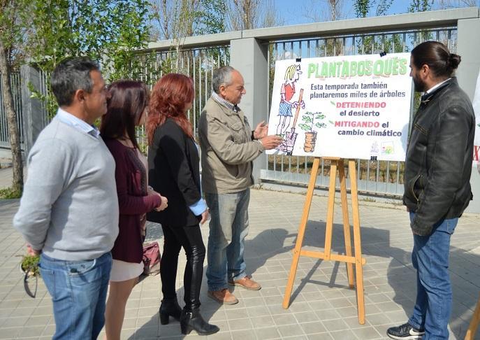 Presentación de la campaña 'Plantabosques'.
