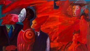 'Lujuria' (2007) ,de Rafael Rivera Rosa.