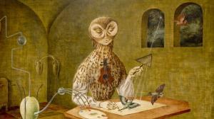 'La Creación de las Aves'. 1957. Detalle. Remedios Varo.