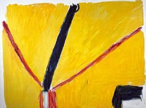 La Brecha III, José Guerrero (1989).