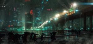 Fotograma de 'Blade Runner' (1982), Ridley Scott .