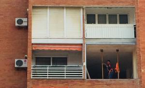 Reforma en una vivienda de Granada.