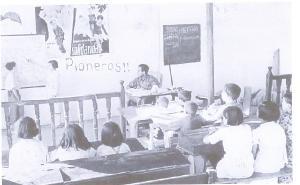 La escuela republicana formaba a los alumnos en los valores de justicia social y solidaridad.