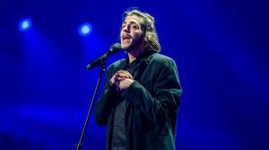 Salvador Sobral, durante su actuación en el Festival de Eurovisión.