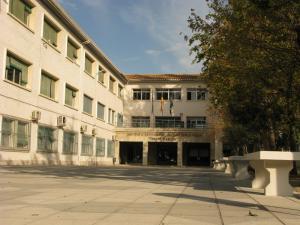 Entrada del instituto Padre Manjón.