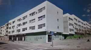 Grupo de edificios donde se van a hacer las reformas.
