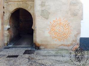 El joven ahora condenado hizo pintadas en lugares protegidos, como el Arco de las Pesas.