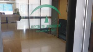 Uno de los centros sanitarios afectados por la caída del sistema informático.