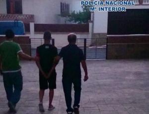 Imagen de una de las detenciones producidas a final de julio de 2016.