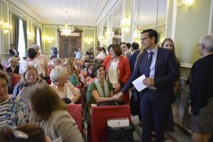 El alcalde y la consejera de Igualdad y Políticas Sociales han presidido el acto.