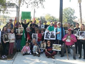 Participantes en la manifestación del 28F.