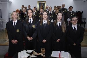 El Colegio de Abogados ha acogido la ceremonia de incorporación de nuevos letrados.
