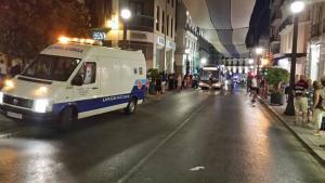 Imagen del suceso ocurrido en la noche del pasado lunes.
