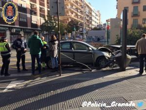 En el accidente no ha habido heridos.