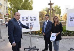Sebastián Pérez con Eva Martín y Federico Sánchez.