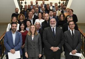 Responsables de la Junta y de los municipios.