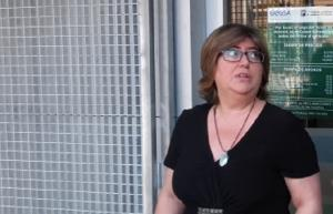 Ana Muñoz, en el aparcamiento de la Hípica.