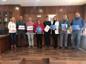 Representantes de la Diputación  de los municipios integrantes.