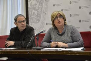 Miguel Ángel Fernández Madrid y Ana Muñoz.