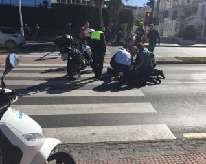 El atropello ha ocurrido en la Avenida Fernando de los Ríos.