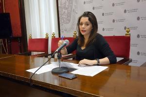 Jemi Sánchez, este martes en rueda de prensa.