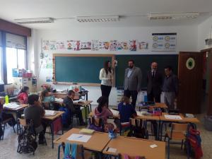 El delegado ha visitado el colegio.