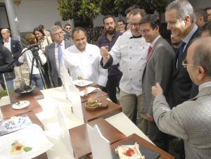 Presentación del evento gastronómico en el Consistorio.