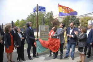 Inauguración de la calle.