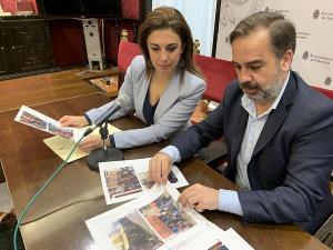 Raquel Ruz y Jacobo Calvo.
