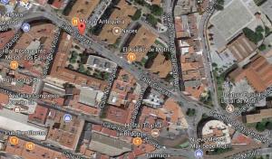 El camionero fue interceptado en la calle Cuevas de Motril.