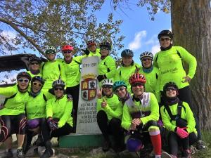 En total han recorrido 400 kilómetros en bici.