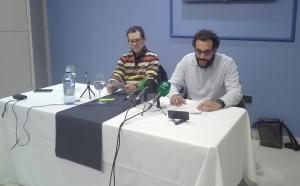 Jesús Candel y Enrique Marín, este martes.