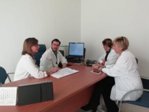 Profesionales del Hospital Virgen de Nieves y Distrito Metropolitano de Granada.