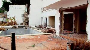 Muchas de las viviendas están en ruina.