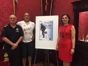 Presentación de la carrera escaleras bomberos Granada-Sierra Nevada 2017'.