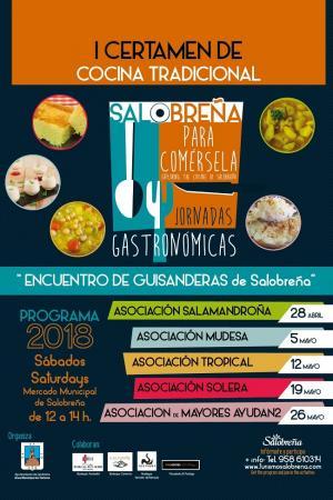 Cartel de la iniciativa gastronómica.