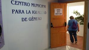 Instalaciones del Centro de Información a la Mujer de Maracena, donde trabaja Granados.