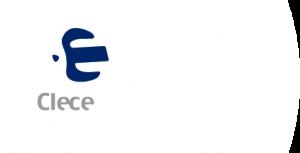 Logotipo de la empresa Clece.