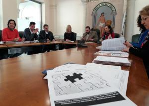 Reunión de la Comisión Provincial contra el Absentismo Escolar.