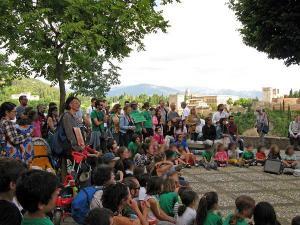 Imagen de una de las actividades organizadas en el marco de la movilización.