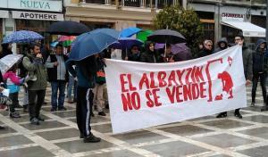Concentración celebrada el sábado en Plaza Nueva.