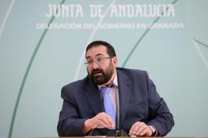 Germán González, delegado de Educación.