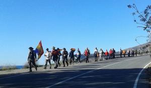 La marcha finalizará en Almería.