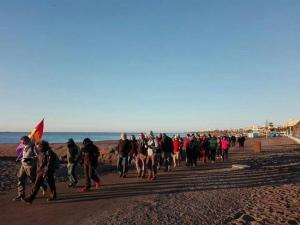 La marcha para recordar La Desbandá llega a Granada.