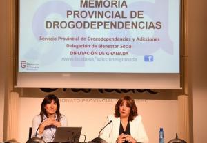 Blanca Molina (izqda.) y Olvido de la Rosa.