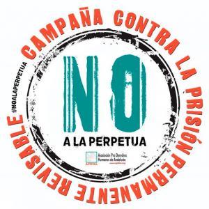 De la campaña de la APDHA contra la prisión permanente revisable.