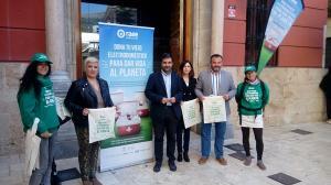 Presentación de la campaña en Loja.