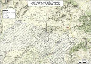 Localización de la explotación porcina.