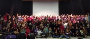 El encuentro se celebró en el Teatro Maestro Alonso.